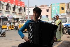 Eva Zöllner, Indien 2012